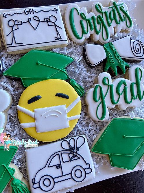 Emoji Quarantine Graduation