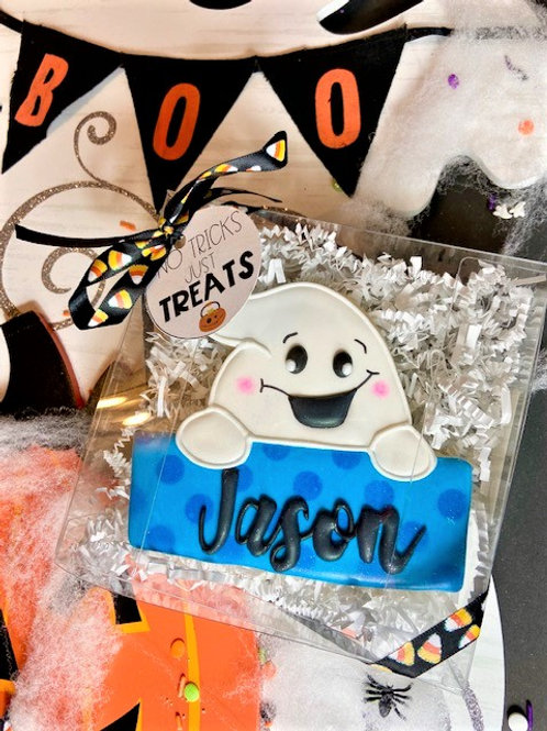Ghost Name Plaque (Personalized)