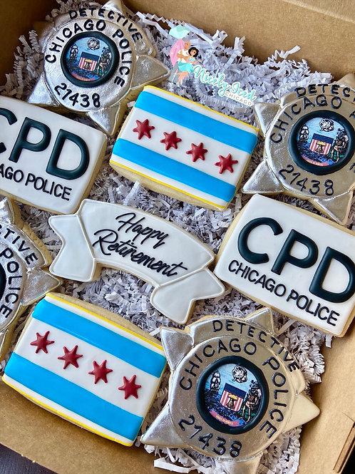 Retired Police/Badge