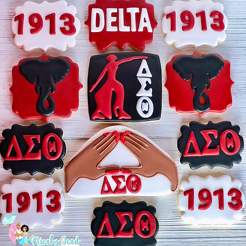 Delta Sorority Set