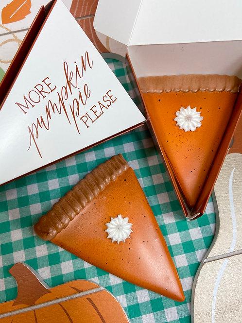Individual Pumpkin Pie Slice