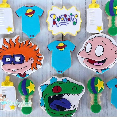 Rugrats Baby Shower (3 Characters)