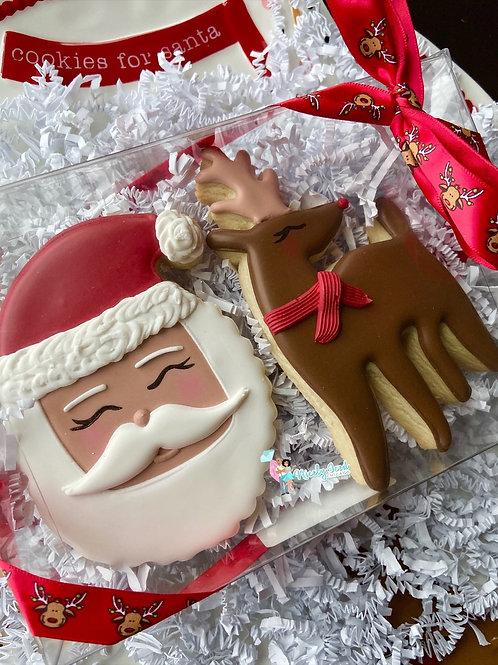 Rudolph & Santa Set