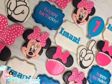 Minni Mouse Birthday Set