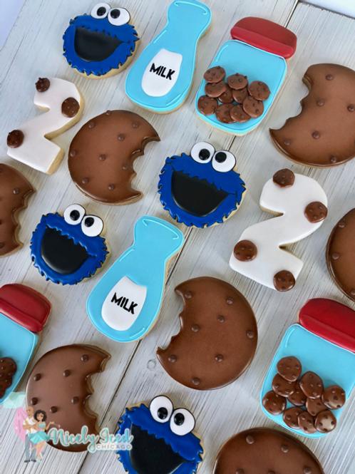 Cookie Monster Set