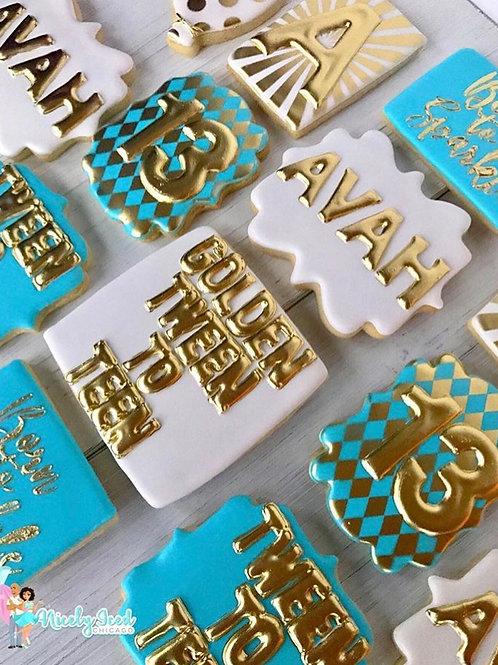 Golden Tween Set