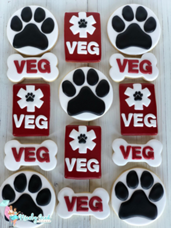 Company Logo Cookie