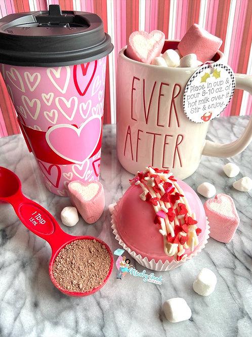 White Chocolate Mocha Cocoa Bomb