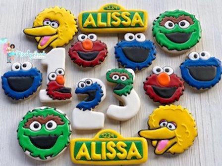 Sesame Street Character Set