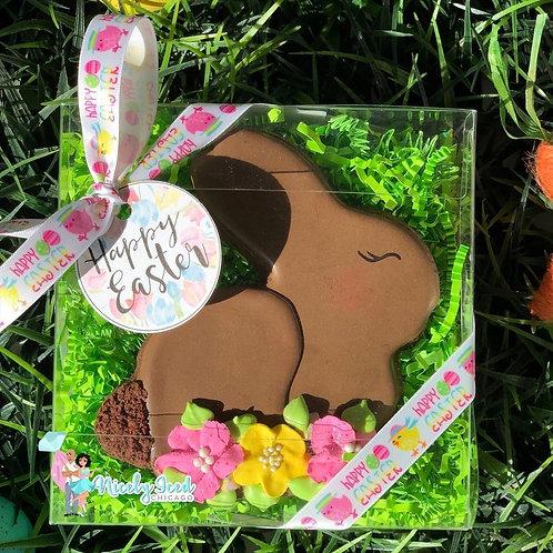 Large Chocolate Bunny