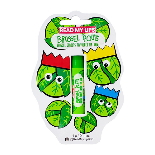 Read My Lips Brussel Pouts Brussels Flavoured Lip Balm