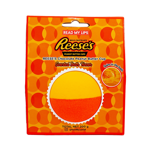 Read My Lips Reese's Scented Bath Fizzer