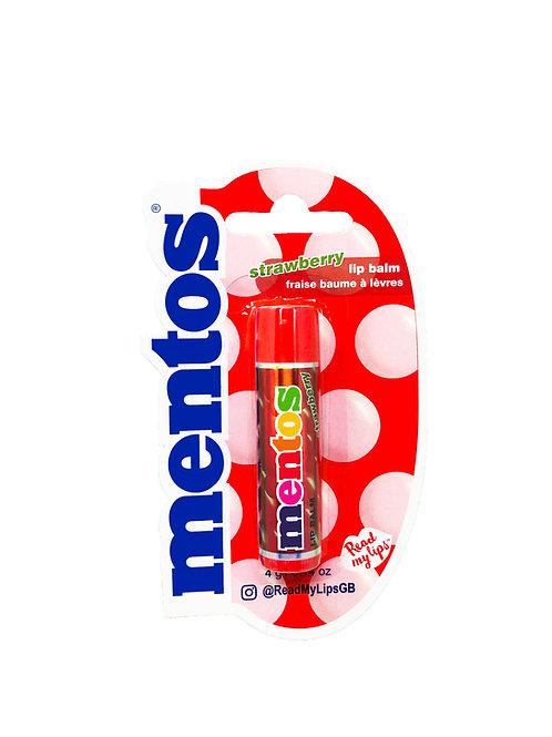 Read My Lips Mentos Strawberry Lip Balm