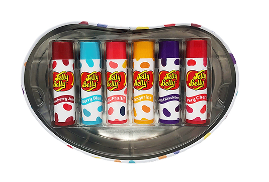 Read My Lips Jelly Belly 6pc Party Pack Tin Flavoured Lip Balm