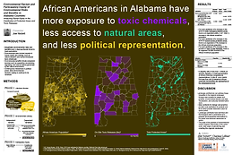 Environmental Racism and Participatory Equity of Environmental Risks and Benefits in Alabama Counties: Analyzing Racial Equity in the Distribution of Protected Areas and Toxic Releases