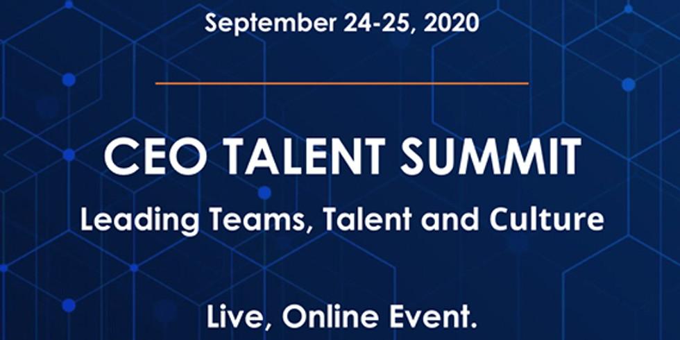 Chief Executive CEO Talent Summit