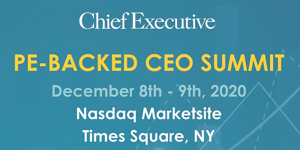 Chief Executive PE-Backed CEO Summit