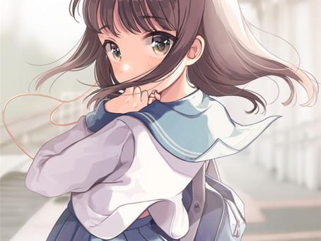 Anime Artwork - Back Glance