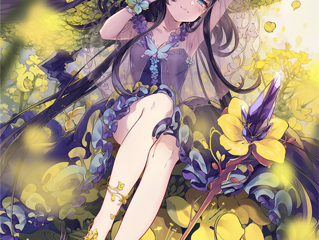 anime artwork - barefoot
