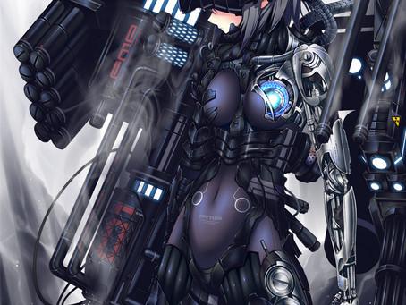 anime artwork - Mechanang