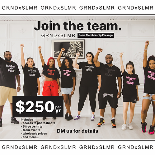 GRNDxSLMR Sales Memebership