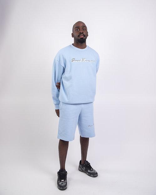 Classic Shorts Set (Sky Blue)