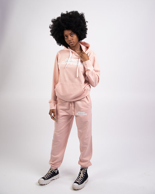 Classic Tracksuit (Baby Pink)
