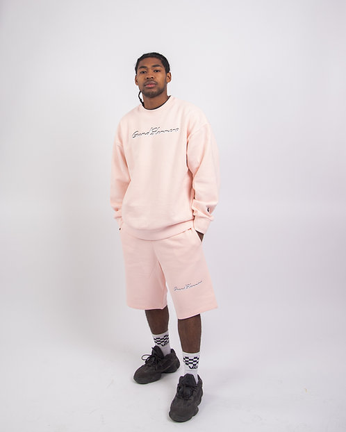 Classic Shorts Set (Baby Pink)