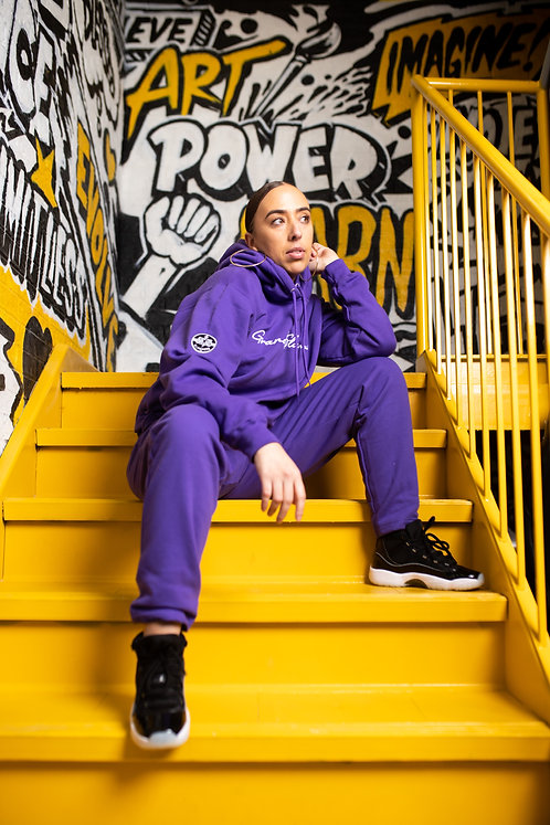 Adult Signature Tracksuit (Purple)