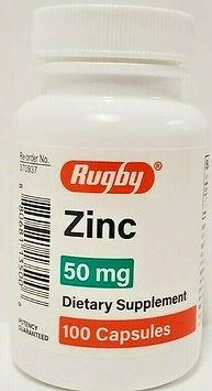 Zinc 50mg Covid Prevention