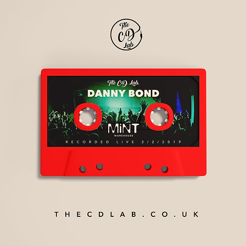 Danny Bond & Friends - Live @ Mint Warehouse USB