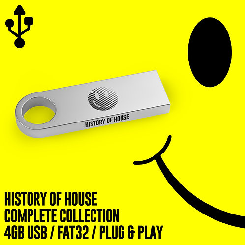 History of House - Complete Collection USB