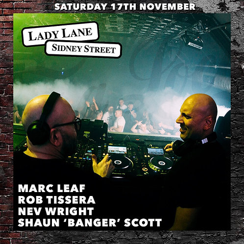 Casa Loco Presents: Lady Lane & Sidney Street (Live 17.11.18)