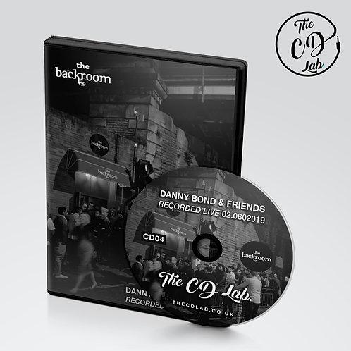 Danny Bond - Live @ The Backroom 02.08.2019