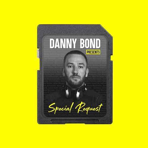 Danny Bond - Special Request SD CARD