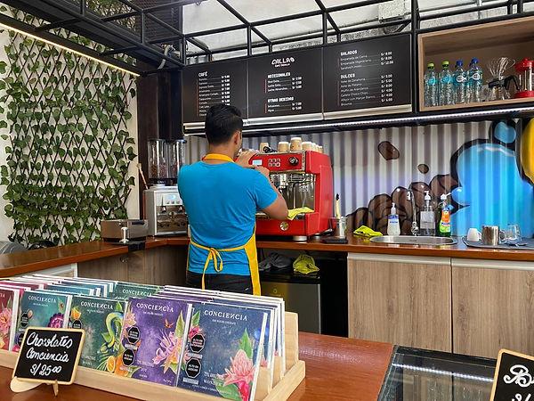 callao cafe- tienda