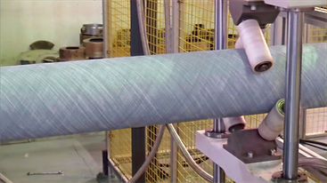 Fiberglass reinforced thermoplatic composite pipe machinery line system (TCP pipe and RTP pipe )