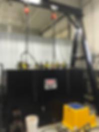 fiberglas pipe testing equipment