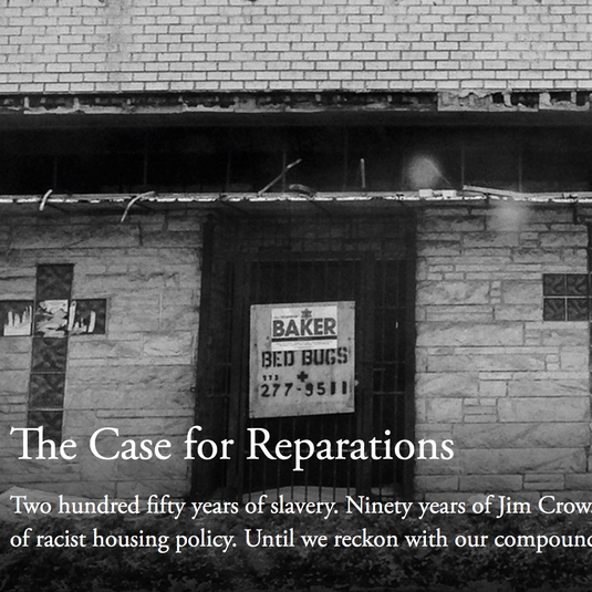Article: The Case for Reparations