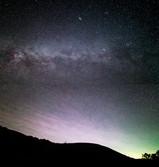 Milky Way North at Enchanted Rock