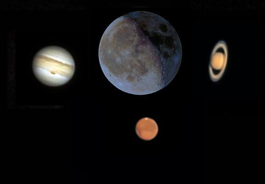 Planet Montage