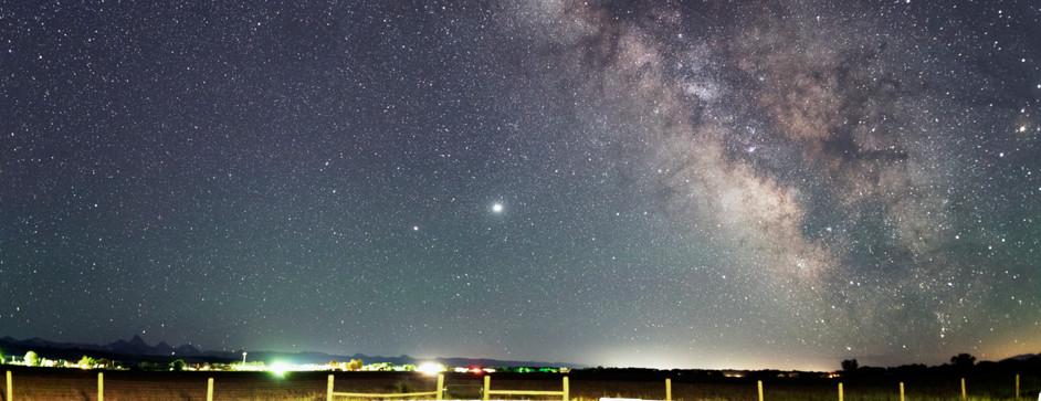 Milky Way in Summer in Grand Tetons