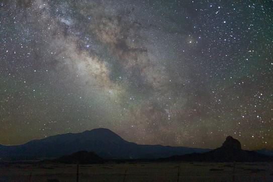 Milky Way in Summer in La Vita