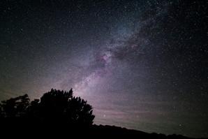 Milky Way West at Enchanted Rock