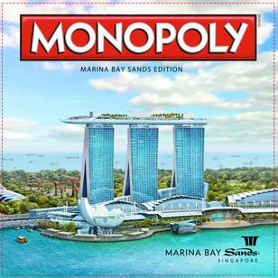 Monopoly Marina Bay Sands edition