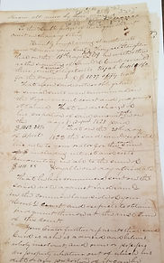 Ordinary law suit, debt for slave hire, John Slaughter