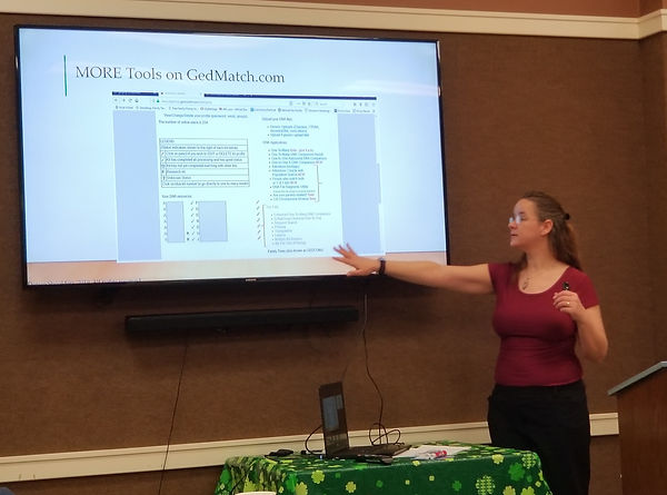 Denise Shoulders, professional genealogist