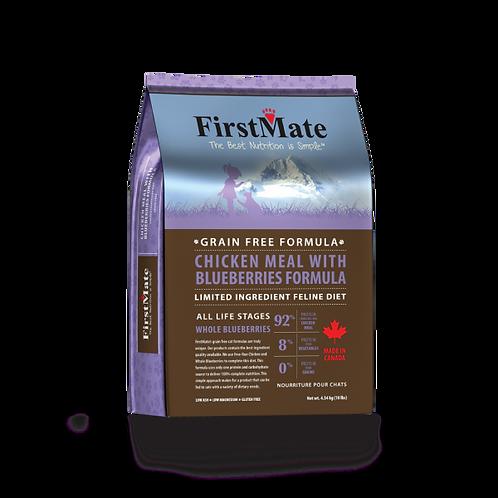 First Mate cat Chicken grain free 5lbs
