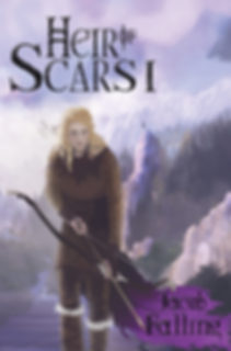 Heir of Scars, Jacob Falling, thevioletwest, Epic fantasy novel, female lead, fantasy books