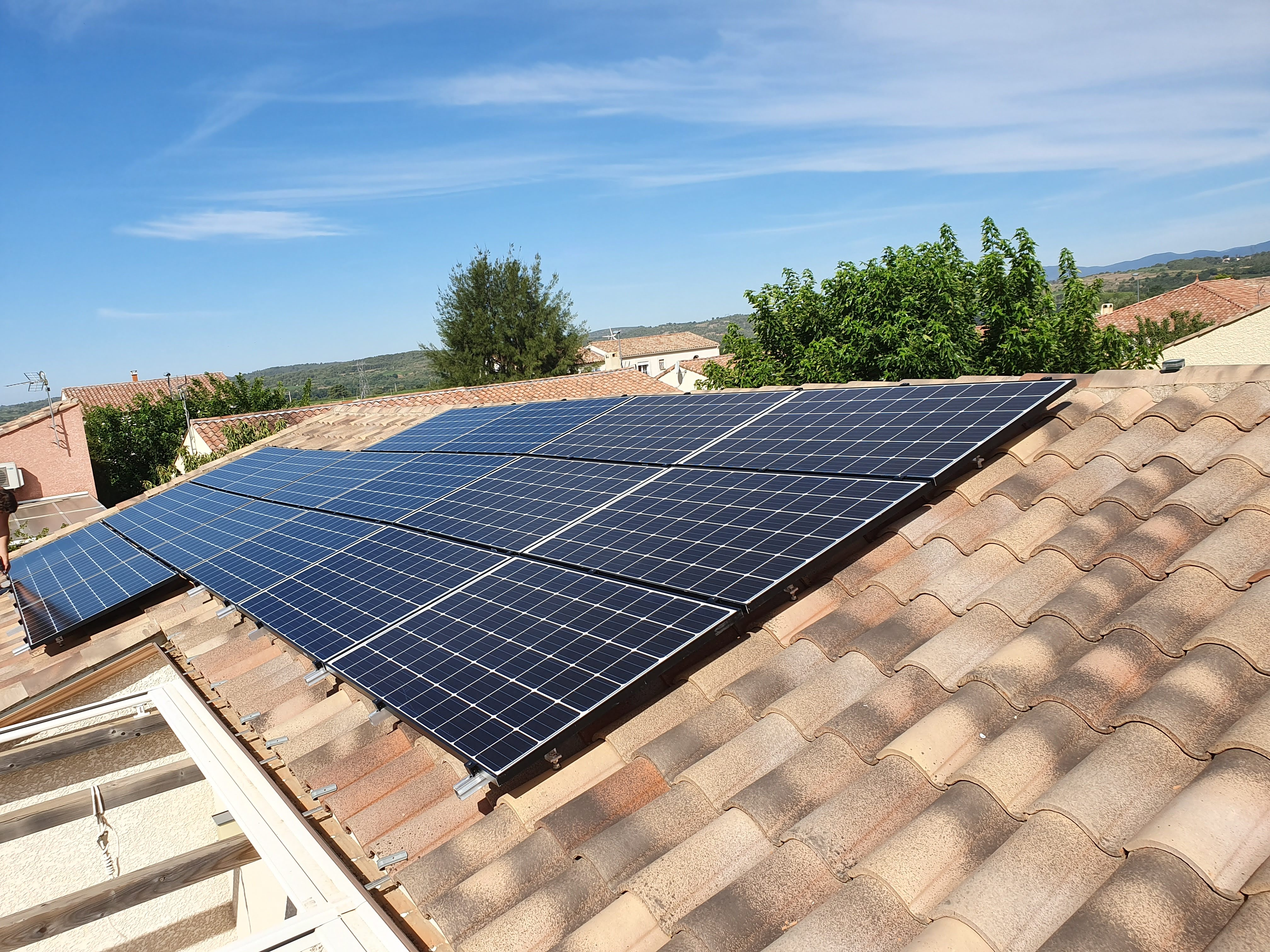 Juillet 2019, 6 kWc, Hérault (34490)